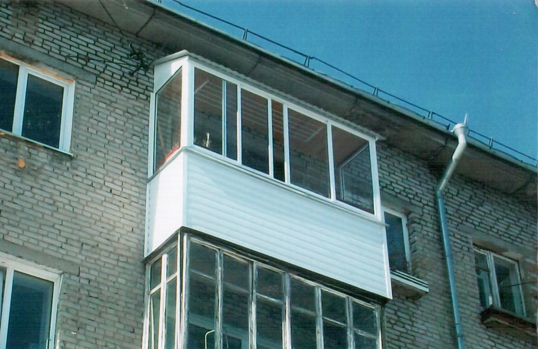 Балкон с козырьком отделка внутрипоталоккакзделать..